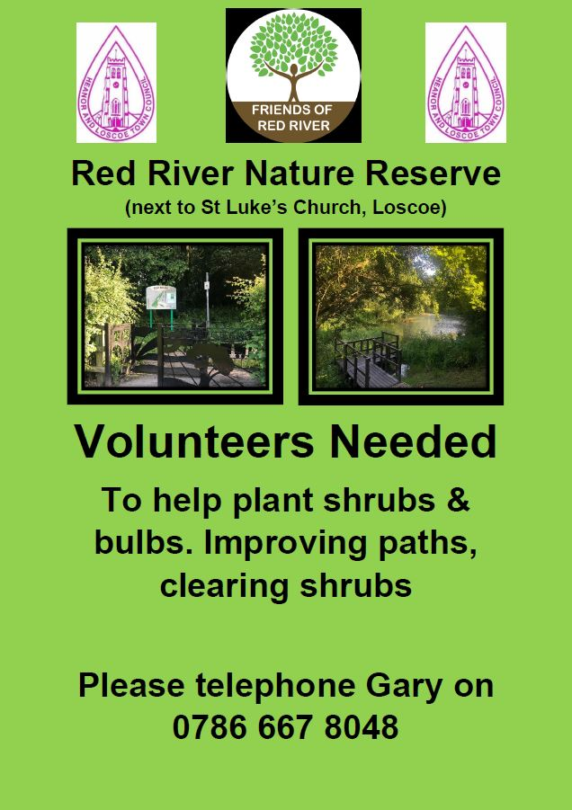 Red River Volunteers Wanted